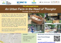 On-site experience: An Urban Farm in the Heart of Thonglor