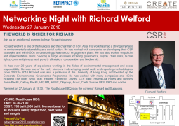 Networking Night with Richard Welford