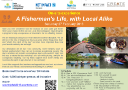On-site experience: A Fisherman's Life, with Local Alike