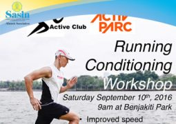 SAA Active Club – Running Conditioning Workshop