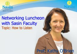 Networking Luncheon with Sasin Faculty