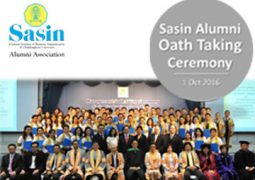 Sasin Alumni Oath Taking Ceremony