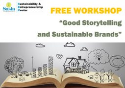 SEC Free workshop: Good Storytelling and Sustainable Brands