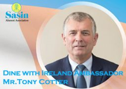 Dine with an Ambassador: Mr. Tony Cotter, the Ambassador Designate of the Republic of Ireland