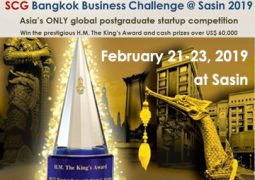 SCG Bangkok Business Challenge @ Sasin 2019