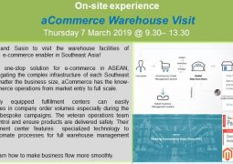 SEC On-site experience: aCommerce Warehourse Visit